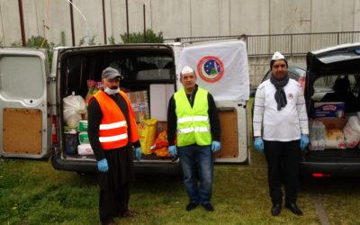 محمدیہ اسلامی مرکز و جامع مسجد بریشیاءاٹلی اپنے ہم وطنوں کیلئے گھر گھر امدادی پیکج پہنچانے کی تیاریاں